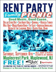 Rent Party Family Picnic